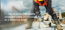 On-site safety professionals for your project